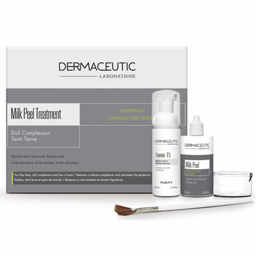 Image result for Dermaceutic Milk Peel<奶滑果酸換膚>療程
