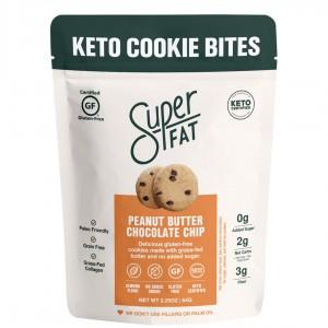 SuperFat Keto Cookie Bites Peanut Butter
