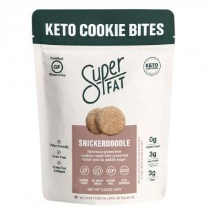 SuperFat Keto Cookie Bites Snicker Doodle