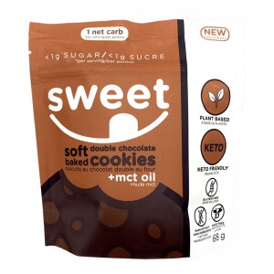 Sweet Nutrition Soft Baked Double Chocolate Cookies