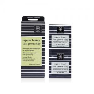 Apivita 綠瓷土深層潔膚面膜 (12 x 8ml)
